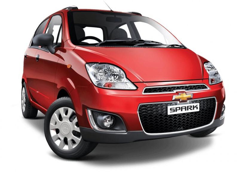 Chevrolet Spark Mileage - Spark LPG, Petrol Mileage   CarTrade