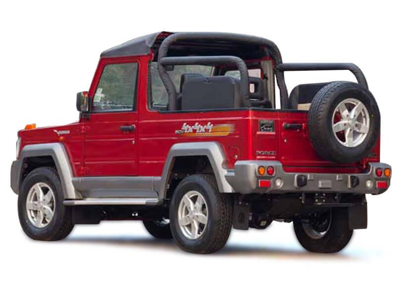 Force Motors Force Gurkha Soft Top 4x2 Price