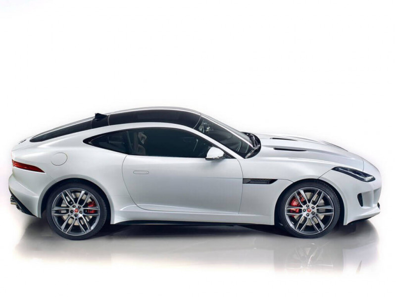jaguar f type coupe 3 0 supercharged v6 380ps price specifications review cartrade. Black Bedroom Furniture Sets. Home Design Ideas