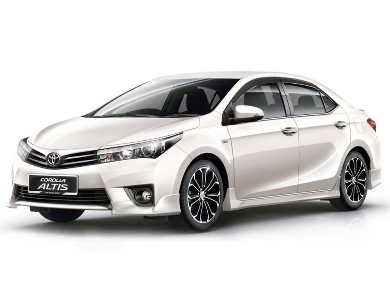 toyota corolla altis 1 8vl price specifications review cartrade. Black Bedroom Furniture Sets. Home Design Ideas