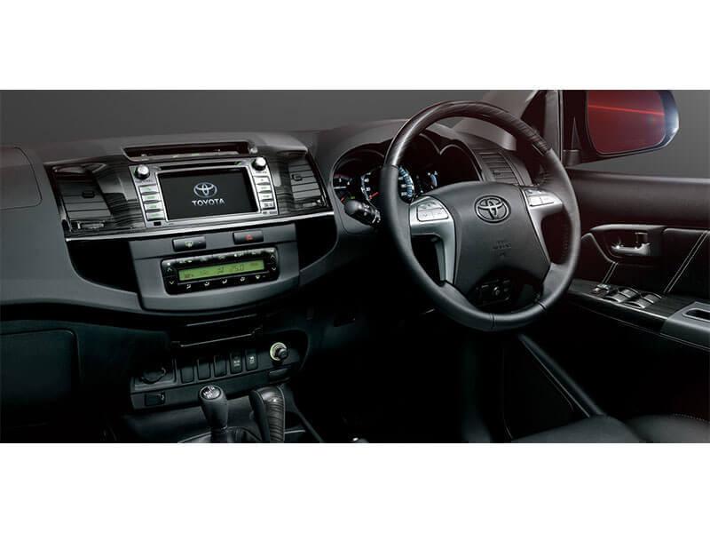 Toyota Fortuner 2014 2015 Photos Interior Exterior Car